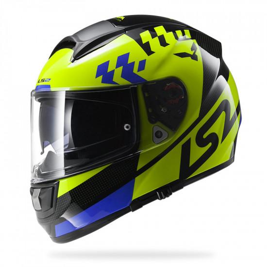 SUPEROFERTA: Casco integral LS2 Helmets FF397 VECTOR Podium Hi-Vis Yellow Black