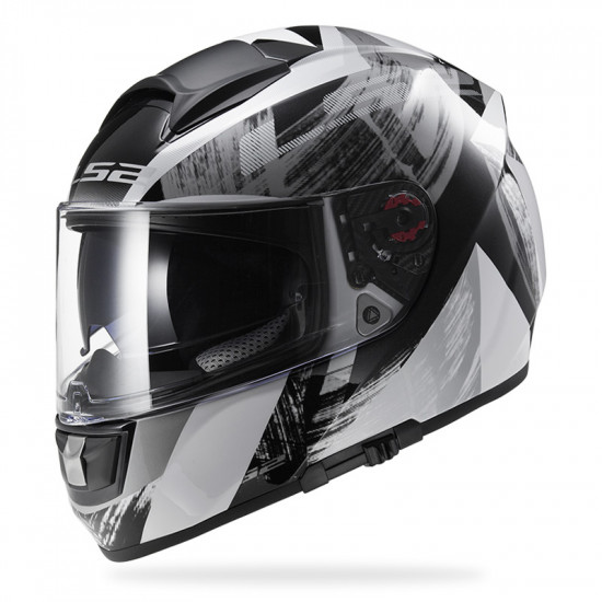 SUPEROFERTA: Casco integral LS2 Helmets FF397 VECTOR Cosmos White Black