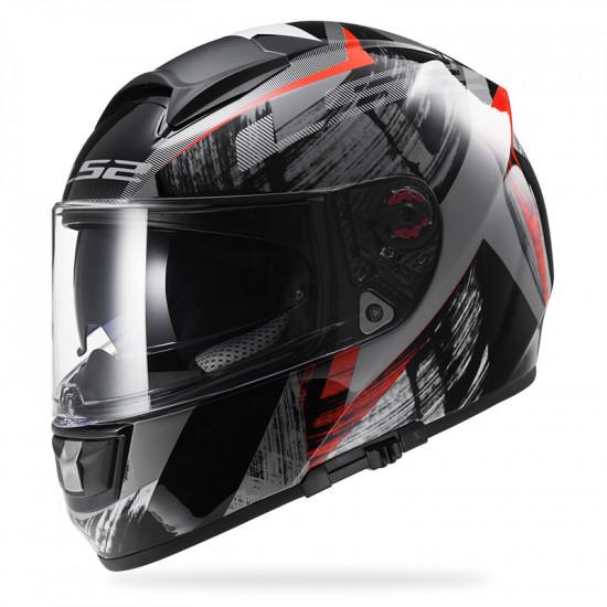 SUPEROFERTA: Casco integral LS2 Helmets FF397 VECTOR Cosmos - Black Red