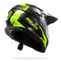 SUPEROFERTA: Casco cross/enduro LS2 Helmets MX436 PIONEER TRIGGER Black-White-Hi-Vis-Yellow