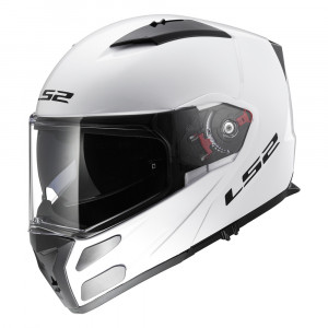 Casco convertible LS2 Helmets FF324 METRO Solid White