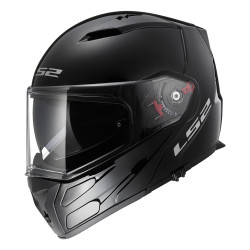 SUPEROFERTA: Casco convertible LS2 Helmets FF324 METRO Solid Black