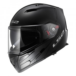SUPEROFERTA: Casco convertible LS2 Helmets FF324 METRO Solid Black