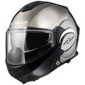 Casco convertible LS2 Helmets FF399 VALIANT Chrome