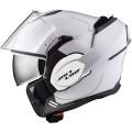 Casco convertible LS2 Helmets FF399 VALIANT SOLID White