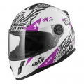 SUPEROFERTA: Casco INFANTIL LS2 Helmets KID FF392J Savane White Purple