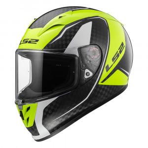 SUPEROFERTA: Casco integral fibra de carbono LS2 Helmets FF323 ARROW C EVO FURY Carbon H-V Yellow > Regalo: Pantalla ahumada