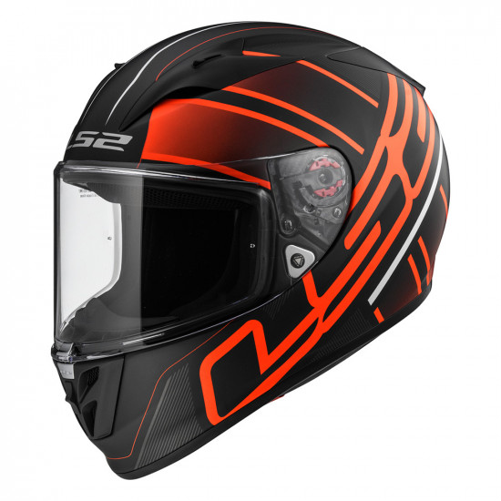 SUPEROFERTA: Casco integral LS2 Helmets FF323 ARROW R EVO ION Matt Black Red > REGALO: Pantalla ahumada