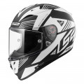 SUPEROFERTA: Casco integral LS2 Helmets FF323 ARROW R EVO NEON Matt Black Gloss White > REGALO: Pantalla ahumada