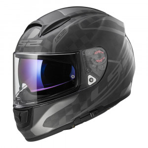 Casco integral LS2 Helmets FF397 VECTOR C CLASS Matt Gloss Carbon