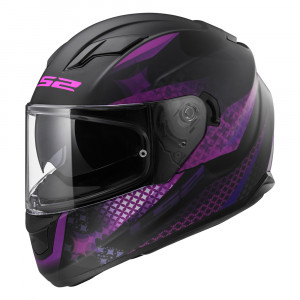 Casco integral LS2 Helmets FF320 STREAM LUX Matt-Black-Pink
