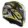 SUPEROFERTA: Casco integral LS2 Helmets FF352 ROOKIE INFINITE White Black H-V Yellow