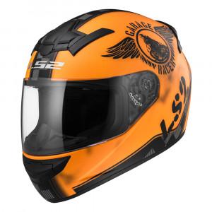 Casco integral LS2 Helmets FF352 ROOKIE FAN Matt Orange