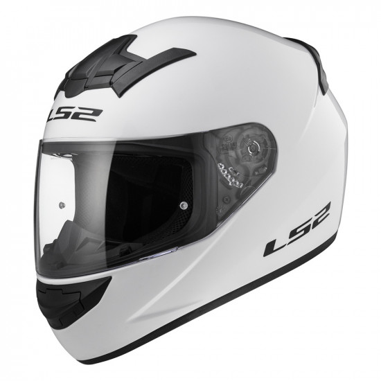 Casco integral LS2 Helmets FF352 ROOKIE SOLID White