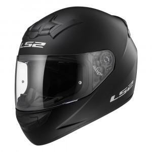 Casco integral LS2 Helmets FF352 ROOKIE SOLID Matt-Black