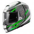 SUPEROFERTA: Casco integral LS2 Helmets FF397 VECTOR TITAN White Titanium Green
