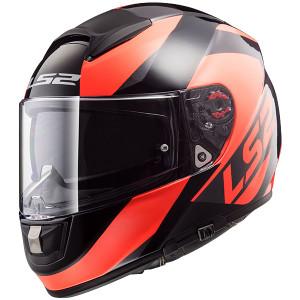 Casco integral LS2 Helmets FF397 VECTOR WAVY Black Fluo Orange