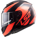SUPEROFERTA: Casco integral LS2 Helmets FF397 VECTOR WAVY Black Fluo Orange