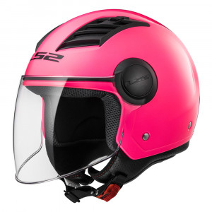 Casco jet LS2 Helmets OF562 AIRFLOW L SOLID Pink