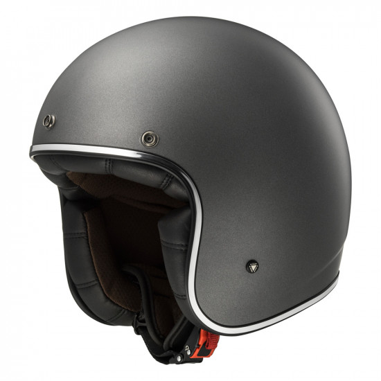 SUPEROFERTA: Casco jet LS2 Helmets OF583 BOBBER SOLID Matt-Titanium