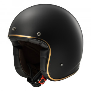 Casco jet LS2 Helmets OF583 BOBBER SOLID Matt-Black