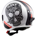 SUPEROFERTA: Casco jet LS2 Helmets OF599 SPITFIRE Inky White Black