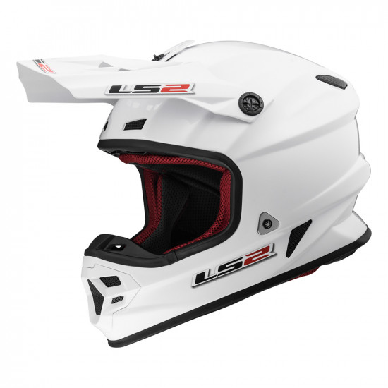 SUPEROFERTA: Casco cross/enduro LS2 Helmets MX456 LIGHT EVO SOLID White