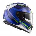 Casco integral LS2 Helmets FF320 STREAM EVO AXIS White Blue