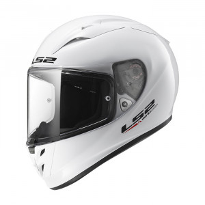 SUPEROFERTA: Casco integral LS2 Helmets FF323 ARROW R EVO Solid White > REGALO: Pantalla ahumada