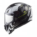 SUPEROFERTA: Casco integral LS2 Helmets FF323 ARROW R EVO TECHNO White Black > REGALO: Pantalla ahumada