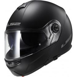 Casco convertible LS2 Helmets FF325 STROBE SOLID Matt Black