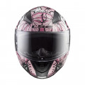Casco integral LS2 Helmets FF353 RAPID Poppies White Pink