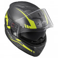 SUPEROFERTA: Casco integral LS2 FF390 Breaker Split Matt Titanium H-V Yellow