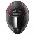 SUPEROFERTA: Casco integral LS2 Helmets FF397 VECTOR HPFC EVO Vantage Matt Black-Fluo Red