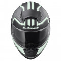 SUPEROFERTA: Casco integral LS2 Helmets FF397 VECTOR HPFC EVO ORION Matt Black Light