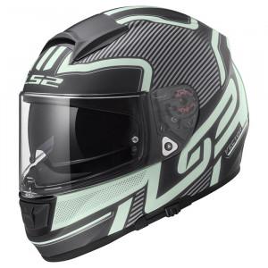 SUPEROFERTA: Casco integral LS2 Helmets FF397 VECTOR HPFC EVO ORION Matt Black Light