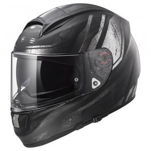Casco integral LS2 Helmets FF397 VECTOR HPFC EVO RAZOR Matt Black