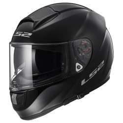 Casco integral LS2 Helmets FF397 VECTOR HPFC EVO Solid Black + Impermeable de regalo