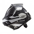 Casco convertible LS2 Helmets FF399 VALIANT LUMEN Matt / Gloss Black Light