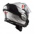 Casco convertible LS2 Helmets FF399 VALIANT PROX White Black Red