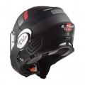Casco convertible LS2 Helmets FF399 VALIANT PROX Matt Black Titanium