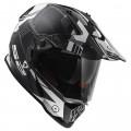 SUPEROFERTA: Casco cross/enduro LS2 Helmets MX436 PIONEER Trigger Black White Titanium