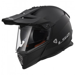 Casco cross/enduro LS2 Helmets MX436 PIONEER SOLID Matt Black