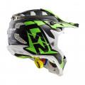 SUPEROFERTA: Casco cross/enduro LS2 Helmets MX470 SUBVERTER Nimble Black White Green