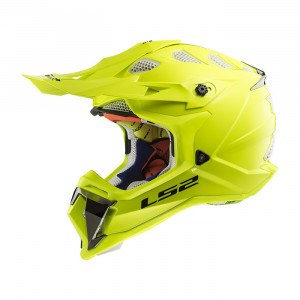 Casco cross/enduro LS2 Helmets MX470 SUBVERTER Solid H-V Yellow