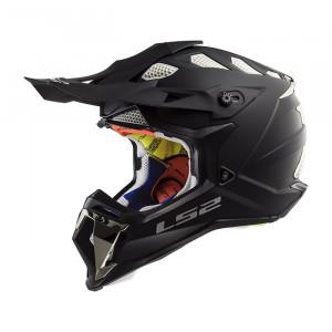 Casco cross/enduro LS2 Helmets MX470 SUBVERTER Solid Matt Black