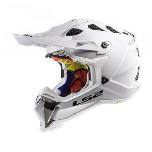 Casco cross/enduro LS2 Helmets MX470 SUBVERTER Solid White
