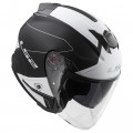 Casco jet LS2 Helmets OF521 INFINITY BEYOND Black-White