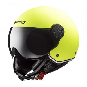 Casco jet LS2 Helmets OF558 SPHERE LUX Solid Matt Fluo Yellow