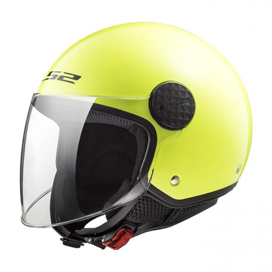 Casco jet LS2 Helmets OF558 SPHERE Solid Fluo